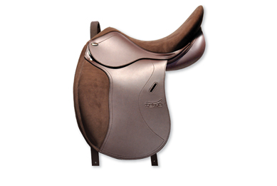 Tekna A line Pony Dressage saddle suede seat