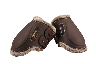 Tekna injection fetlock horse boots with new fleece