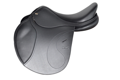 Tekna S line jumping saddle smooth seat